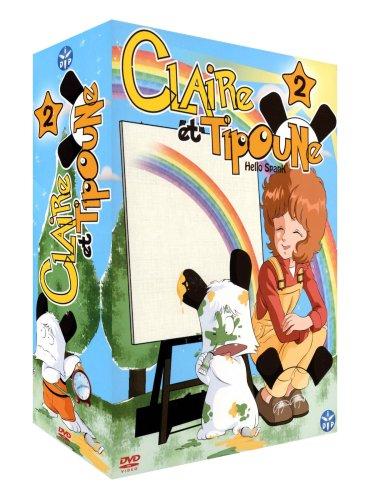 Claire et Tipoune-Partie 2-Coffret 4 DVD [Édition VF]