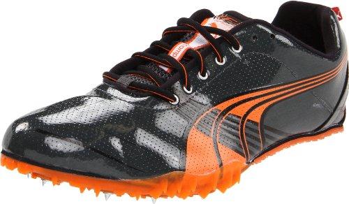 Puma Complete TFX Sprint III Track Shoe,Dark Shadow/Steel Grey/Orange/Black,13 D US