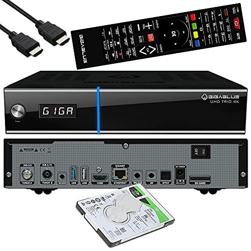 GigaBlue Trio 4K UHD HDR Sat Receiver...