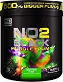 MRI NO2 Black Nitric Oxide Supplement for Pump, Muscle Growth, Vascularity & Energy - Powerful NO Booster Pre-Workout with Citrulline + 60 Servings (Sour Pixie Pump), NO2NEW, NO2NEW, NO2NEW, NO2NEW