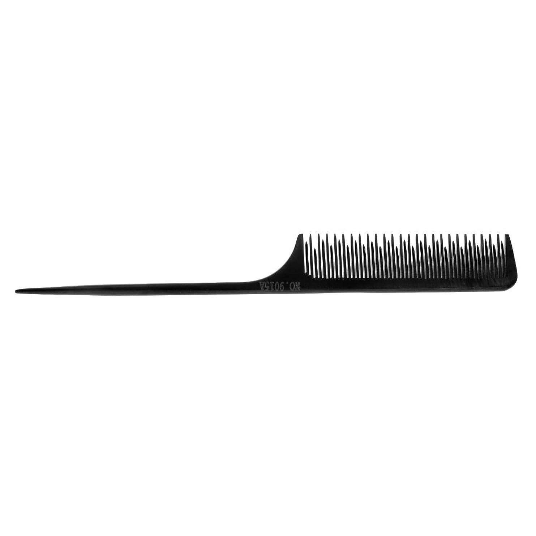 病弱着る計器CUTICATE サロンの理髪師のテールチップスタイリングツール細かい歯の選択毛の櫛