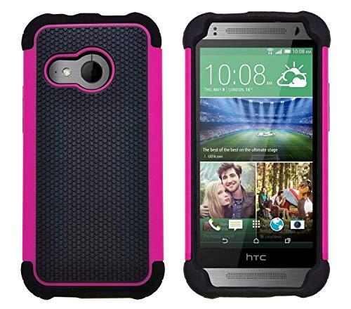 G-Shield Hülle für HTC Mini 2 Stoßfest Schutzhülle - Rosa