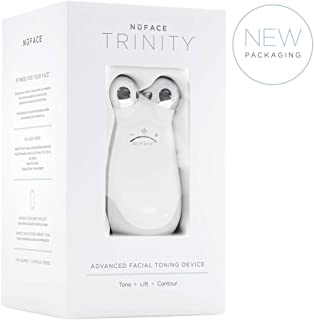 NuFACE Advanced Facial Toning Kit   Trinity Facial Trainer Device + Hydrating Leave-On Gel Primer   Handheld Skin Care Device to Lift Contour Tone Skin + Reduce Look of Wrinkles