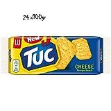 24x TUC Käse cheese Salzgebäck Kekse Crackers Salz gesalzen gebäck 100g