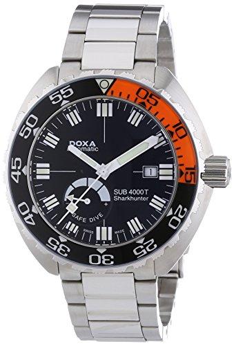 Doxa Herren Analog Automatik Uhr mit Edelstahl Armband 876.10.101.10