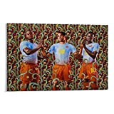 FANSH Kehinde Wiley Puma-Poster, dekoratives Gemälde,