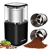 VIEWKA VK-7446A Electric Dried Spice and Coffee Grinder, Grinder and chopper,detachable cup, OK for clean it with water, Blade & cup made with SUS304 stianlees steel