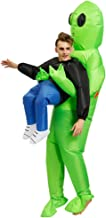 Akiimy Pick Me Up Inflatable Blow Up Costume for Halloween Costume Party Decorations/Cosplay Fancy Halloween Party Birthday Cosplay Fancy Dress up Suit (Alien ET)