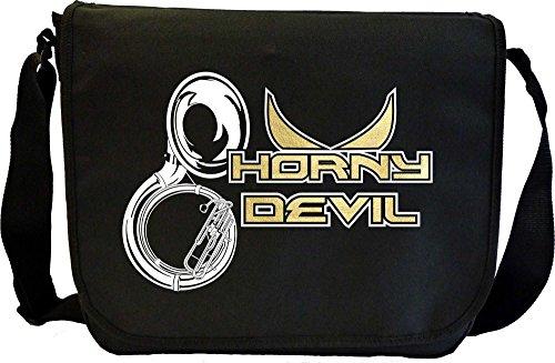Musicalitee Sousaphone Horny Devil - Sheet Music Messenger TRIO Document Bag Musik Notentasche