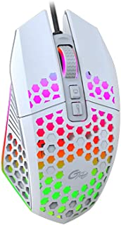 Adaskala X801 Wired RGB Gaming Mouse with 7 Programmable Buttons Back-to-Desktop Button 6 Adjustable DPILevels 7 Lighting...