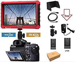 Lilliput A7S 7-inch 1920x1200 IPS Screen Camera Field Monitor 4K HDMI Input output Video For DSLR Mirrorless Camera SONY A7S II A6500 Panasonic GH5 Canon 5D Mark IV DJI Ronin M