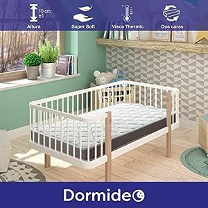 DORMIDEO BabyBed – Colchón Cuna 50×80