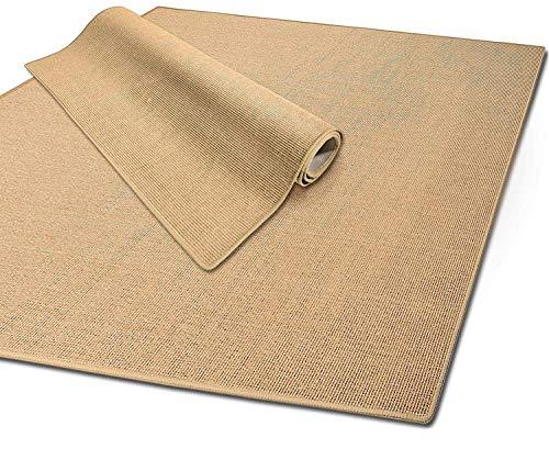 Floordirekt 100% Reines Sisal | Sisalteppich Größen Individuell (Breite: 120 cm - 200 cm)