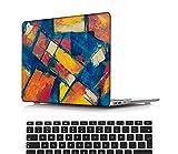 NEWCENT MacBook Air 13' Funda,Plástico Ultra Delgado Ligero Cáscara Cubierta EU Teclado Cubierta para Antigua MacBook Air 13 Pulgadas 2010-2017 Versión(Modelo:A1466/A1369),Pintura A 0343
