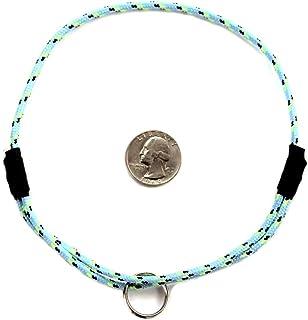 "National Leash Mountain Rope Dog ID Collar- Blue Eyes- Medium (14""-20"") Ultra Lite"