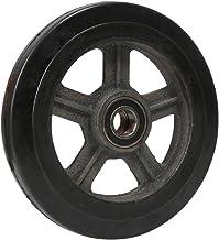 Casters Wielen, nylon rubberen wielen met ijzeren kern, schokdemping en slijtvastheid, geschikt voor tijgerwagens, zware w...