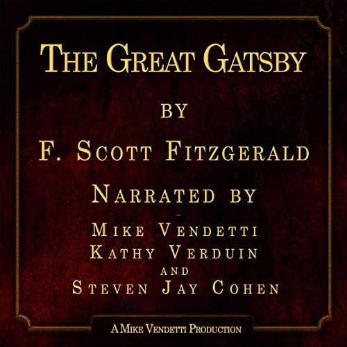 The Great Gatsby Audiobook By F. Scott Fitzgerald cover art