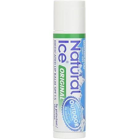 Mentholatum Natural Ice Lip Balm Original SPF 15 1 Each ( Packs of 48)