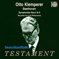 Symphonies Nos 4 & 5 by OTTO KLEMPERER