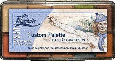 PPI Skin Illustrator CUSTOM PALETTE VFS Flesh and Complexion Makeup by Skin Illustrator