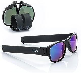d7436cd469 Sunfold Eternal Sunshine Gafas de Sol Enrollables, Hombre, Negro, Talla  Única