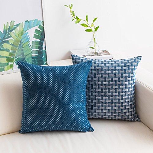 Cojines Cama Azul Marino cojines cama  Marca Home Brilliant