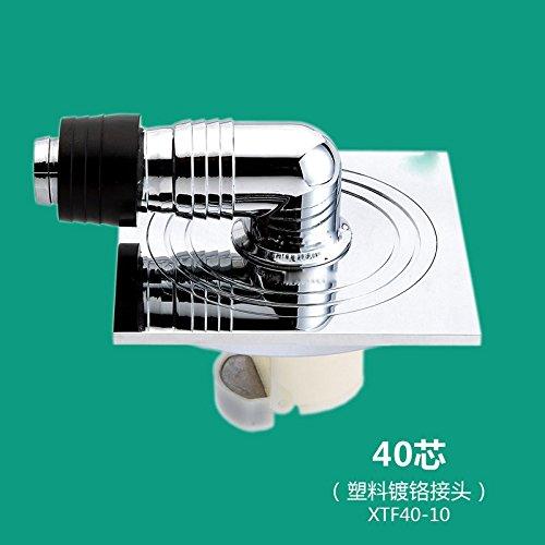 SDKKY drains de plancher spécial pour drum machine à laver l'eau étanche scellé base anti - retour des drains de plancher - cuivre,e