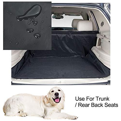 Universele auto laarsbeschermer Heavy Duty waterdicht 2 in 1 auto terug achterste stoelovertrek huisdier hond beschermer mat voering(133 * 145CM)