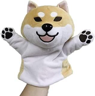 GK-O Japanese Shiba Inu Hand puppet Toys Cute Funne Plush Dolls (D)
