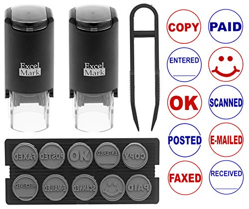 ExcelMark A-17 DIY Self-Inking R...