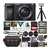 Sony a6400 Mirrorless Digital Camera and 16-50mm Lens Bundle with 64 GB...