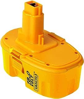 VANON DC9096 Replacement for Dewalt, 3.0Ah 18V XRP Battery for Dewalt 388683-12 651034-01 DE9039 DE9095 DE9096 DE9098 DW9096 DW9095 DW9098