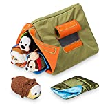 Disney Store Mini Tsum Tsum Special Camp Set with Plush Tent and 4 Micro 2.5 Stuffed Plush Toys