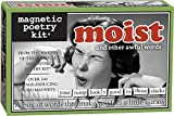 Magnetic Poetry - Moist Kit - Uncomfortable Words for Your Refrigerator - Write Poems and Letters on The Fridge - Made in The USA