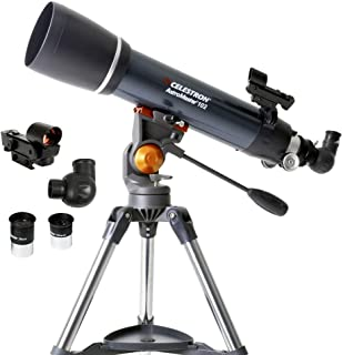 KANJJ-YU High Clarity, Telescope Astronomical Telescope with A Tripod Refracting Finder Mirror