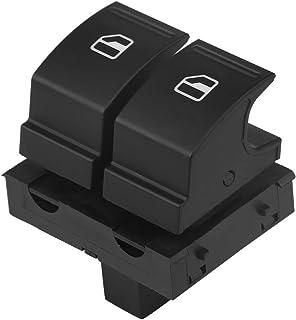 Keenso Auto Fensterheber Schalter, 4.1 * 3.2 * 5cm Auto Elektrischer Fensterschalter Fensterheber Schalter für B6 Golf MK5 EOS CADDY 2K0959857A