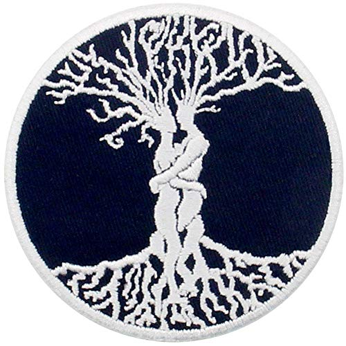 The Tree of Life Celtic Love Forever Patch Embroidered Applique Badge Iron On Sew On Emblem