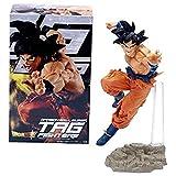 YIGEYI Dragón Ball Z Anime Figura de acción Goku Super Saiyan 22 cm Figuras de PVC de PVC Modelo de ...