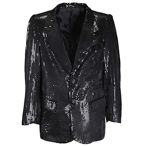 Black Sequin Jacket Costume