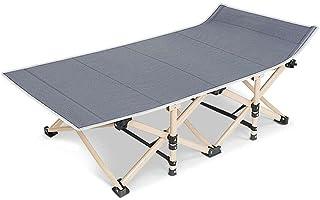 Portable Stretcher Single Foldable Folding Bed Mattress Recliner Camping Mat