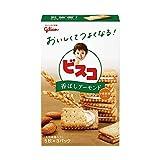 江崎グリコ ビスコ クリームサンド (香ばしアーモンド) 15枚 ×20個