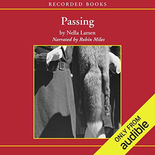Passing audiobook cover art