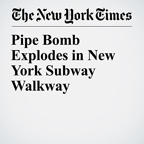 『Pipe Bomb Explodes in New York Subway Walkway』のカバーアート