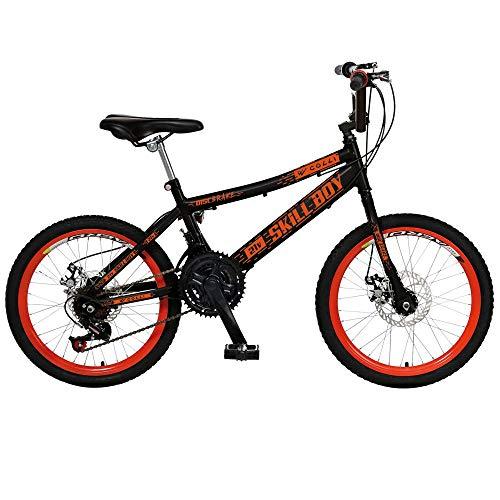 Bicicleta Infantil de Passeio Aro 20 Freio a Disco 21 Marchas Skyll Boy Quadro 12 Aço Preto - Colli Bike