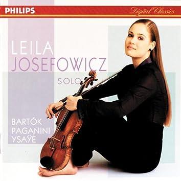 Bartok/Paganini/Ysaye/Schubert etc.: Sonata for Solo Violin etc.
