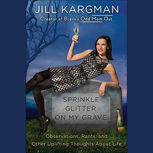 Sprinkle Glitter on My Grave audiobook cover art