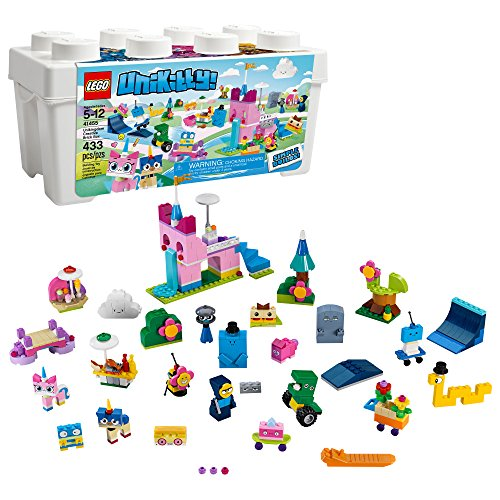 LEGO Unikitty! Unikingdom Creative Brick Box 41455 Building Kit (433 Pieces) (Discontinued by Manufacturer)