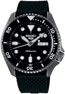 Seiko Men's Analogue Automatic Watch with Silicone Strap SRPD65K2