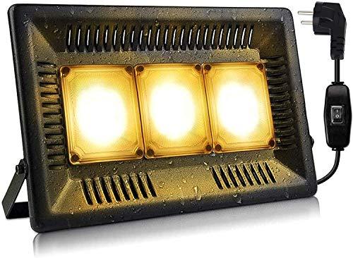 LED Pflanzenlampe 150W Pflanzenlicht Vollspektrum Relassy IP67 Wasserdicht COB LED Pflanzenlicht mit Wandhalterung und Schaltersteuerung Ultradünnes Pflanzenlampe für Pflanzen und Gemüse