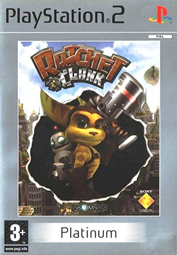Ratchet & Clank PS2 Versione Platinum